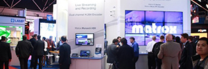 Avnet, Mitsubishi, VisioSign and VuWall Matrox technology used in their presentations at ISE 2016