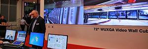 Mitsubishi presenta en ISE 2016 su próxima generación de cubos DLP de proyección trasera