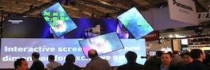 Panasonic reduces up to 1.8 mm the distance of screens to configure videowall