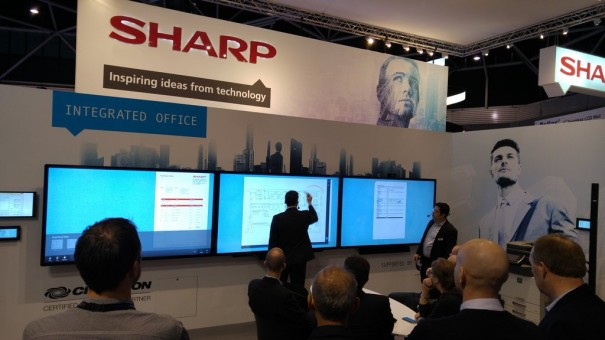 Sharp ISE2016 partner