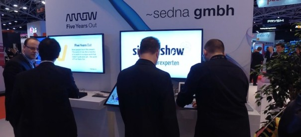 Sharp ISE2016 partners Arrow y sedna