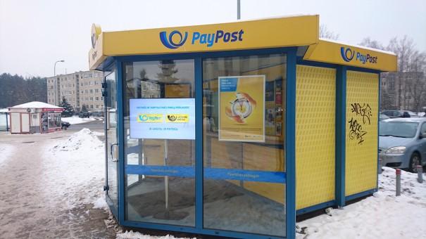 Signagelive en PayPost Lituania