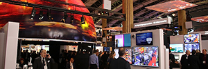 Sony creates an environment where shines visualization and simulation in ISE 2016
