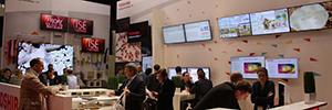 Toshiba muestra en ISE 2106 las nuevas prestaciones de sus pantallas de cartelería digital