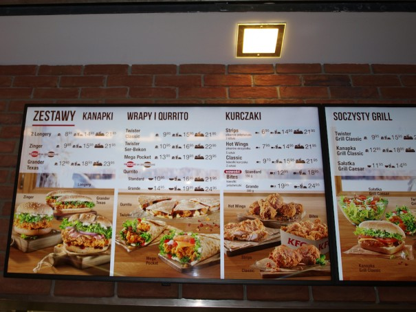 Toshiba M4B restaurantes KFC
