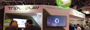 Tripleplay llena de streaming de vídeo WiFi y aplicaciones multimedia su espacio en ISE 2016