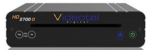 Reproductor Videotel HD2700D para aplicaciones de señalización interactiva