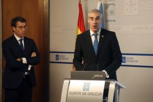 Xunta Alberto Nunez Feijoo y Francisco Conde