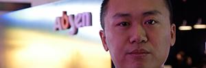 """""""Fabricamos pantallas Led para todo tipo de aplicaciones con una visión muy internacional"""", Jerry Wu, director de Producto de Absen"""
