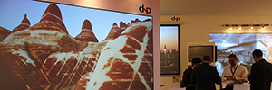 ISE 2016: dnp shows the evolution of optical Visual systems with LaserPanels of 100 ""