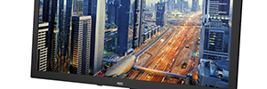 AOC 75 series: professional monitors of low power consumption and optimal image quality