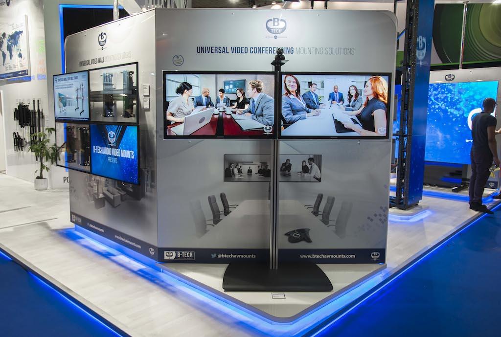 Exhibition Stand Wall : B tech agradece la positiva respuesta recibida en ise