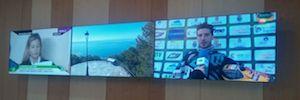 Caverin Solutions suministra un videowall de marco ultrafino al hotel Las Vegas Málaga