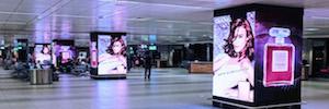 Clear Channel Italia y Absen convierten el Aeropuerto de Fiumicino en el más digitalizado de Europa