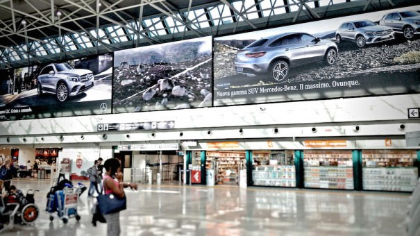 Clear Channel Italia Absen Aeropuerto Fiumicino
