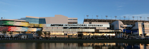 TriplePlay provides content live, menu board and interactive TV to the Daytona Speedway circuit