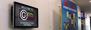 La Universidad de Winchester sigue apostando por un estilo de vida saludable a través del digital signage