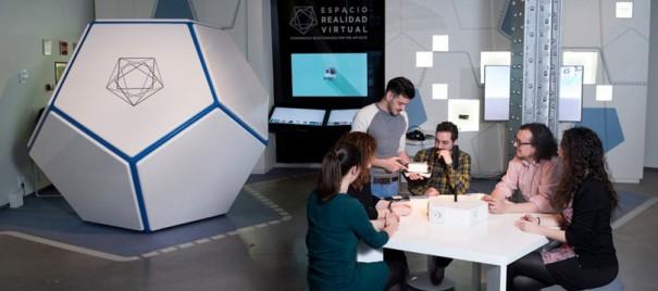 الفضاء الواقع الظاهري مؤسسة تليفونيكا