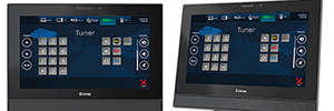 Extron TLP Pro 1022M and 1022T: 10-inch touch screens for AV applications