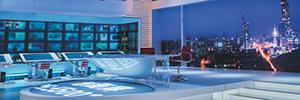 Una de las principales cadenas de TV de China utiliza la tecnología eyevis en sus informativos