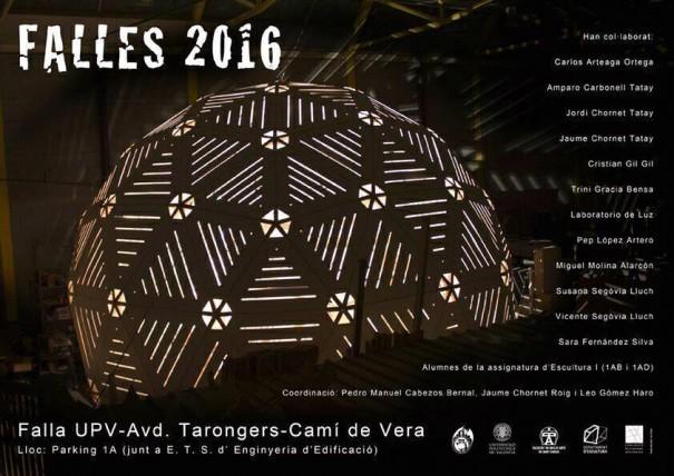 Falla 2016 UPV