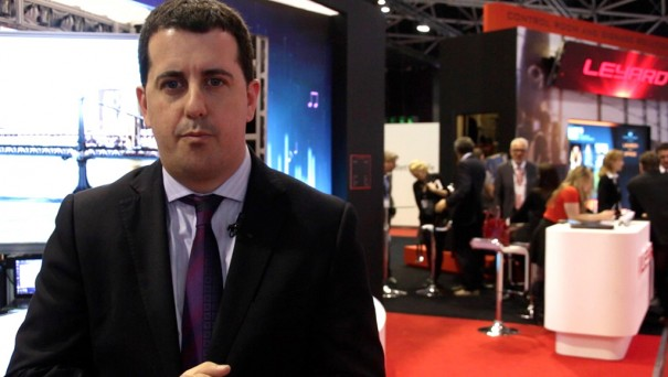 Leyard ISE 2016 Christian Orcin Head of Sales and Business director