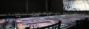 Lumentium Lux Tables: mapping y alta gastronomía en el Palacio Neptuno de Madrid