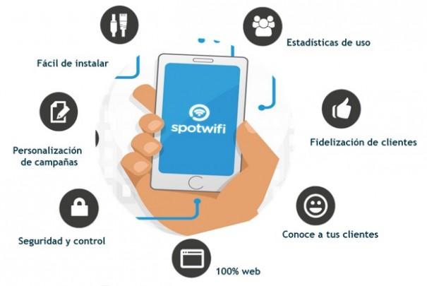 Movistar Onthespot Spotwifi