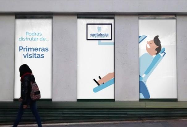 Neo advertising Seguros santalucia