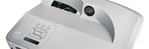 Optoma ZH300UW: panoramic laser projector short-range AV, education and business