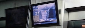 Otis mejora la comunicación de su multipantalla digital con tecnología 3G en ascensores