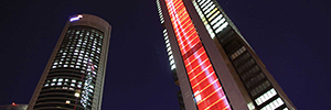 Philips ActiveSite manages architectural lighting of Cepsa Tower and Toledano Bathroom Cava