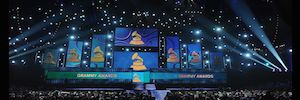 Premium sound JBL during the 58th Edition of the Grammy Awards