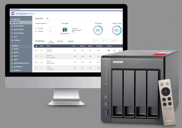 Qnap ContainerStation Tech Data