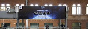 La cuenta atrás de La Hora del Planeta se inicia en los videowalls de las estaciones de tren españolas