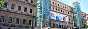 Vitelsa se encarga del mantenimiento de los equipos AV del Museo Reina Sofía
