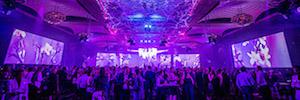 Videowall Led combinado con audio como nueva experiencia en eventos