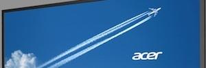 Acer apuesta por la cartelería digital con la pantalla DV550