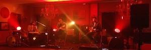 Adagio muestra en vivo el MLA mini de Martin Audio con la banda L.A. en un afterwork Afial 2016