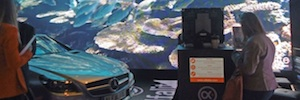 Alfalite centra su participación en Afial 2016 en la pantalla Led modular Micropix