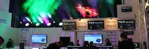 Artixium displayed its Led display in 2016 Prolight + Sound news