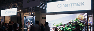 Charmex Afial 2016 shows its commitment by Led solutions for rental and installation