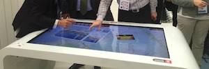 DigaliX promotes tourism in Barcelona with Interactive Tourism and the table XTable multitouch