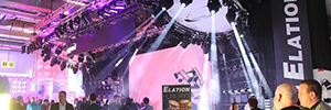 Elation attended 2016 Prolight + Sound with a wide range of new products for lighting