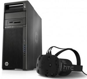 HP Z640 y HTC Vive