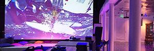 La iluminación de DTS propicia el ambiente multisensorial al LEF future center