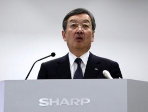 Kozo Takahashi, presidente de Sharp
