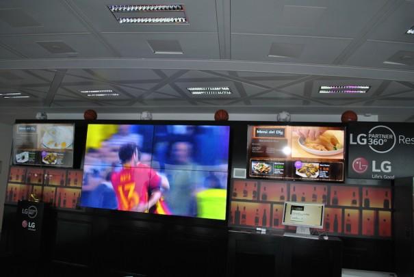 LG Partner360 sport bar