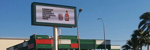 Mahou San Miguel reinforces the image of its factory in Malaga with technology Led outdoor