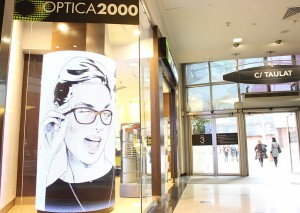 LedandGo en Optica 2000 Diagonal Mar